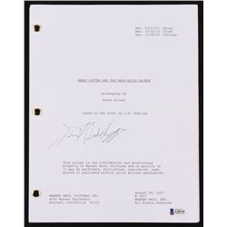 """Daniel Radcliffe Signed """"Harry Potter And The Half-Blood Prince"""" Movie Script (Beckett COA)"""