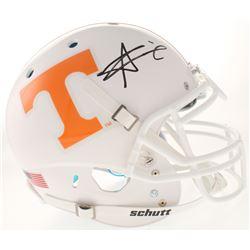 Alvin Kamara Signed Tennessee Volunteers Full-Size Authentic On-Field Helmet (Radtke COA)
