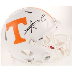 Alvin Kamara Signed Tennessee Volunteers Full-Size Authentic On-Field Speed Helmet (Radtke COA)