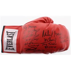 """Heavyweight Champions Everlast Boxing Glove Signed by (7) with James """"Buster"""" Douglas, Ray Mercer, T"""