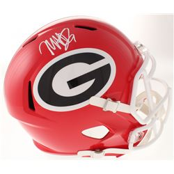 Mecole Hardman Signed Georgia Bulldogs Full-Size Speed Helmet (Radtke COA)