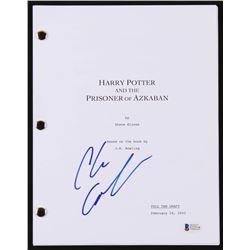 """Chris Columbus Signed """"Harry Potter And The Prisoner Of Azkaban"""" Movie Script (Beckett COA)"""