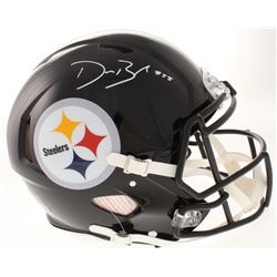 Devin Bush Signed Pittsburgh Steelers Full-Size Authentic On-Field Speed Helmet (Radtke COA)
