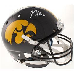 George Kittle Signed Iowa Hawkeyes Full-Size Helmet (Radtke COA)