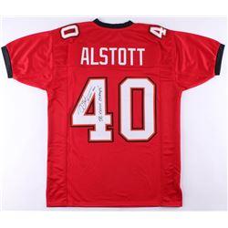 "Mike Alstott Signed Jersey Inscribed ""SB XXXVII Champs!"" (JSA COA)"