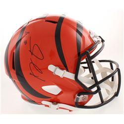 A.J. Green Signed Cincinnati Bengals Full-Size Speed Helmet (Beckett COA)