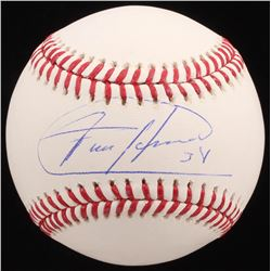 Felix Hernandez Signed OML Baseball (JSA COA)