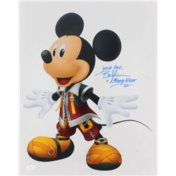 """Bret Iwan Signed """"Mickey Mouse"""" 16x20 Photo Inscribed """"Your Pals""""  """"Mickey Mouse"""" (JSA COA)"""