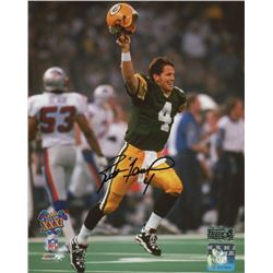 Brett Favre Signed Green Bay Packers 8x10 Photo (Radtke COA)