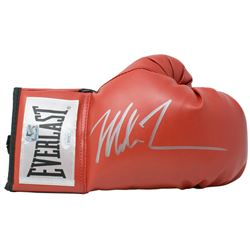 Mike Tyson Signed Everlast Boxing Glove (JSA COA  Fiterman Sports Hologram)