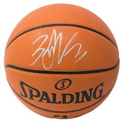Zach LaVine Signed NBA Game Ball Series Basketball (Fanatics Hologram)