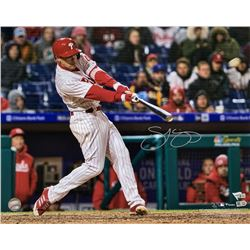 Scott Kingery Signed Cincinnati Reds 16x20 Photo (Fanatics Hologram  MLB Hologram)