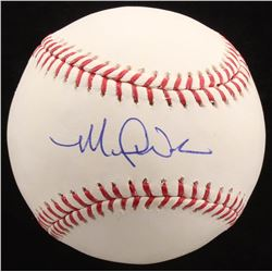 Michael Wacha Signed OML Baseball (Radtke COA)