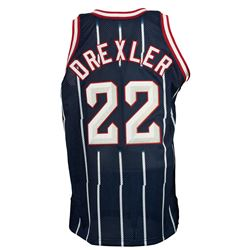 Clyde Drexler Game-Used Houston Rockets Jersey (Worthridge LOP)