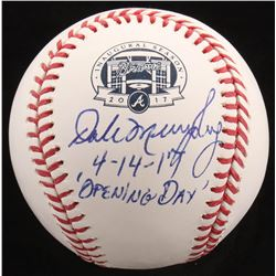 "Dale Murphy Signed LE OML ""SunTrust Park Opening Day"" Logo Baseball Inscribed ""4-14-17 'Opening Day'"