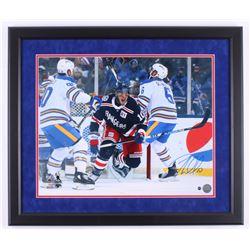 J. T. Miller Signed New York Rangers 22.5x26.5 Custom Framed Photo Display (Steiner Hologram)