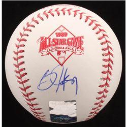 Bo Jackson Signed 1989 All-Star Game Baseball (Radtke COA  Jackson Hologram)