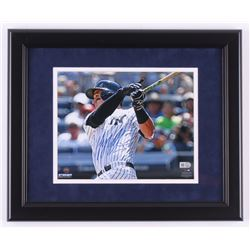 "Tyler Austin Signed New York Yankees ""First Career HR"" 13.5x16.5 Custom Framed Photo Display (Steine"
