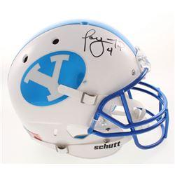 Taysom Hill Signed BYU Cougars Full-Size Helmet (Radtke COA)