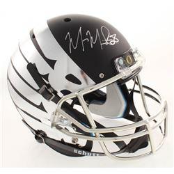 Marcus Mariota Signed Oregon Ducks Full-Size Helmet (Radtke COA  Mariota Hologram)