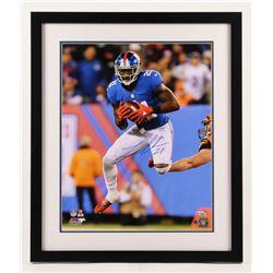 Landon Collins Signed New York Giants 22x26 Custom Framed Photo (Steiner COA  Fanatics Hologram)