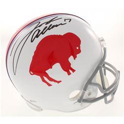 Josh Allen Signed Buffalo Bills Throwback Full-Size Helmet (Beckett COA)