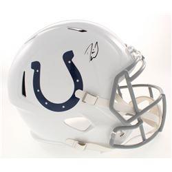 Darius Leonard Signed Indianapolis Colts Full-Size Speed Helmet (Radkte COA)