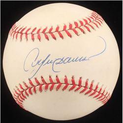 Andre Dawson Signed ONL Baseball (Beckett COA)