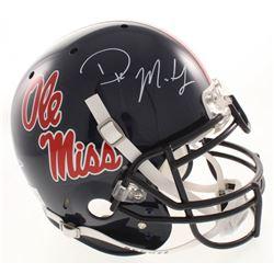 D.K. Metcalf Signed Ole Miss Rebels Full-Size Authentic On-Field Helmet (Radkte COA)