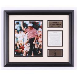 Ernie Els 13x16 Custom Framed Photo Display