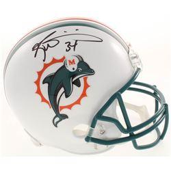 Ricky Williams Signed Miami Dolphins Full-Size Throwback Helmet (JSA COA)
