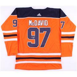 Connor McDavid Signed Edmonton Oilers Captains Jersey (JSA ALOA)