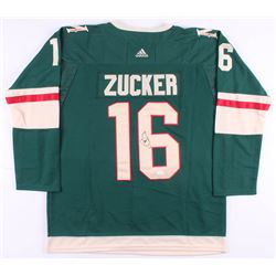 Jason Zucker Signed Minnesota Wild Jersey (JSA COA)