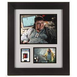 """Wayne Knight """"Jurassic Park"""" Custom Framed Display with Signed Screen Accurate Movie Prop Replica ID"""