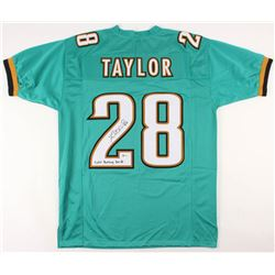 "Fred Taylor Signed Jersey Inscribed ""11,695 Rushing Yards"" (Beckett COA)"