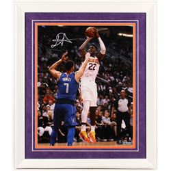 DeAndre Ayton Signed Phoenix Suns 22x26 Custom Framed Photo (Steiner COA)