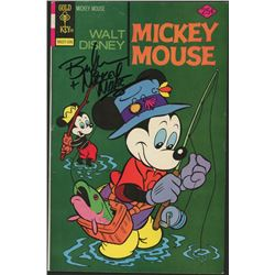"Bret Iwan Signed Vintage Mickey Mouse Walt Disney Comic Book Inscribed ""Mickey Mouse"" (JSA COA)"