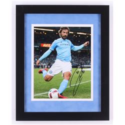 Andrea Pirlo Sigend New York City FC 13x16 Custom Framed Photo Display (Icons COA)