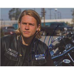 "Charlie Hunnam Signed ""Sons of Anarchy"" 8x10 Photo (Beckett COA)"