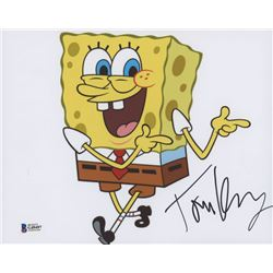 "Tom Kenny Signed ""SpongeBob SquarePants"" 8x10 Photo (Beckett COA)"