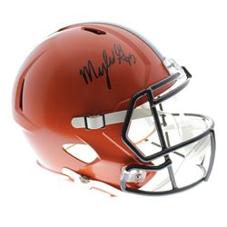 Myles Garrett Signed Cleveland Browns Full-Size Speed Helmet (JSA Hologram)