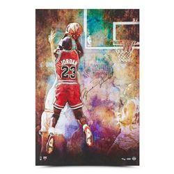 "Michael Jordan Signed Chicago Bulls ""The Shot"" 24x36 Limited Edition Photo (UDA COA)"