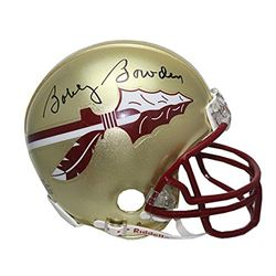 Bobby Bowden Signed Florida State Seminoles Mini Helmet (PSA Hologram)
