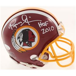 "Russ Grimm Signed Washington Redskins Mini Helmet Inscribed ""HOF 2010"" (JSA COA)"