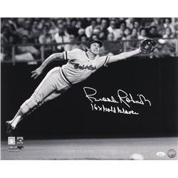"Brooks Robinson Signed Baltimore Orioles 16x20 Photo Inscribed ""16x Gold Glove"" (JSA COA)"