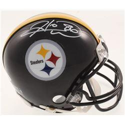 Hines Ward Signed Pittsburgh Steelers Mini-Helmet (JSA COA)