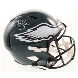Donovan McNabb Signed Philadelphia Eagles Full-Size Speed Helmet (JSA COA)