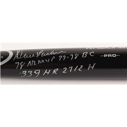 "Dave Parker Signed Rawlings Pro Model Baseball Bat Inscribed ""78 NL MVP 77-78 BC""  ""339 HR 2712 H"" ("