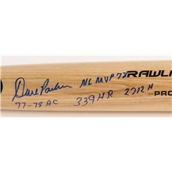 "Dave Parker Signed Rawlings Pro Model Baseball Bat Inscribed ""NL MVP 78"", ""77-78 BC""  ""339 HR 2712 H"