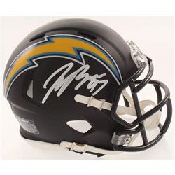 Joey Bosa Signed Los Angeles Chargers Matte Black Speed Mini-Helmet (JSA COA)